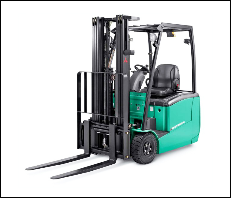 three wheel electric forklift